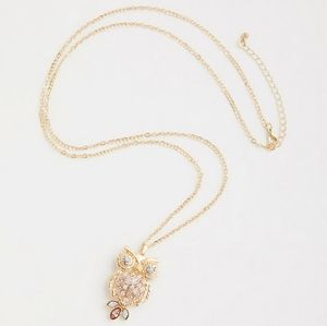 Torrid NWT GOLD-TONE OWL NECKLACE